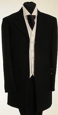 Mj-35A Boys Two Peice Black Prince Edward Wedding/Formal/Event/Funeral Suit