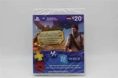 PlayStation Network Card (20 Euro) im Uncharted 3 Design | Playstation 3/PS3