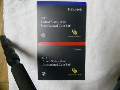 2012  United States Mint Uncirculated Coin Set 28 Coins