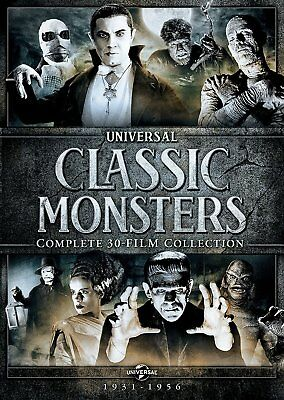 Universal Classic Monsters: Complete 30-Film Collection (Dracula / Frankenstein