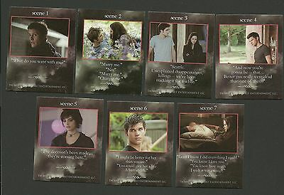 Bella and  Edward Cullen Kristen Stewart Robert Pattinson Twilight Fab Card LOT