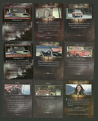Bella Swan's Red Truck Kristen Stewart Robert Pattinson Twilight Fab Card LOT