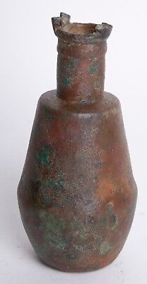 Ancient Egyptian Bronze Situla Vessel c.700-30 BC.