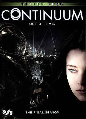 Continuum: Season 4 New DVD! Ships Fast!