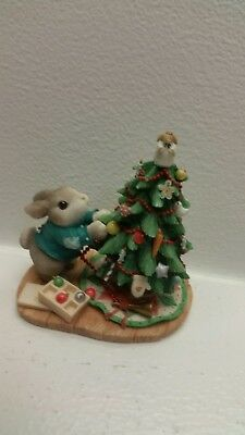 My Blushing Bunnies Blessings On The Tree For All To See 1998 Hillman Enesco