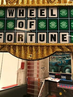 Ice Wheel of Fortune Arcade Redemption Game