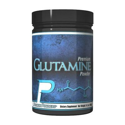Premium Powders GLUTAMINE POWDER for Muscle Growth & Recovery - 80 Servings