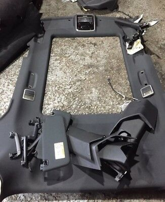 L494 Range Rover Sport Hse Black Roof Lining With Accessories.