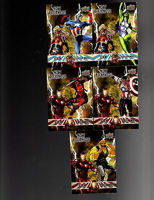 2016 Upper Deck  Marvel Annual NA New Alliances  cards