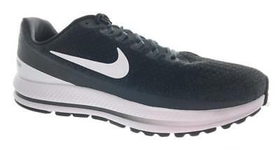 Men's Nike Air Zoom Vomero 13 Running Shoes 942844-001 Black White Wide Width