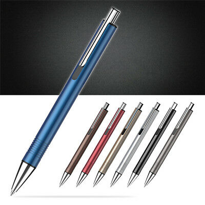 1.0mm Metal Ball Pen Ballpoint Pens Business Office School Students Stationery