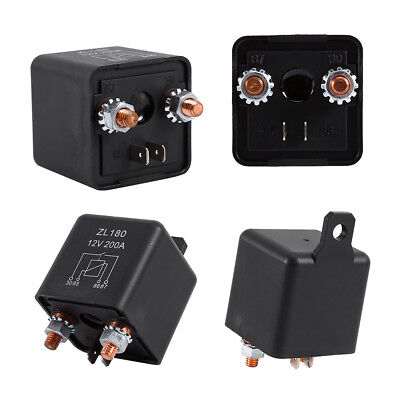 12V 200A Heavy Duty Split Charge Relay Camper Van For Boat Car Universal