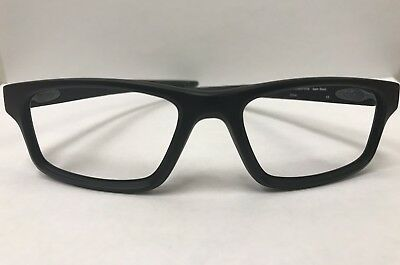 b5a5ed304b5 Oakley Prescription Eyeglasses OX8037-0154 Crosslink Pitch Satin Black  Frame RX
