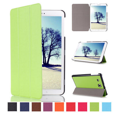 """Flip Smart PU Leather Case Cover For Samsung Galaxy Tab A 10.1"""" SM-T580 (2016)"""