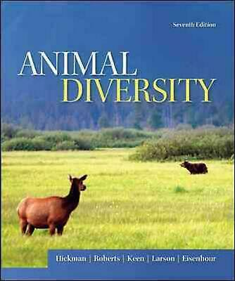 Animal Diversity 7th Edition by Larry S. Roberts (English) Paperback Book Free S