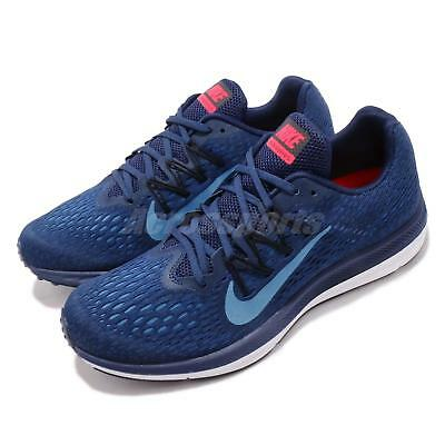 release date 951f5 5ab19 NIKE ZOOM WINFLO 5 V Photo Blue Void White Men Running Shoes Sneakers  AA7406-405