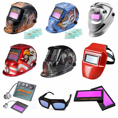 Solar Auto Darkening Welding Welder Machine Helmet Arc Protection Mask MIG ARC