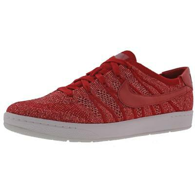 b28f589df3412 Nike Mens Tennis Classic Ultra Flyknit Red Fashion Sneakers 9.5 Medium (D)  3388