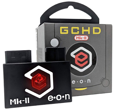 EON Black GCHD MKII HDMI Adapter - Nintendo Gamecube - Dual Output - No Lag
