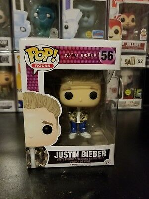 Funko Pop! Rocks Justin Bieber #56 Vinyl Figure WITH PROTECTOR!