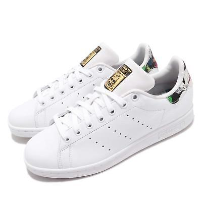 promo code ee641 b6cb4 adidas Originals Stan Smith W White Gold Mint Floral Women Casual Shoes  BB7778