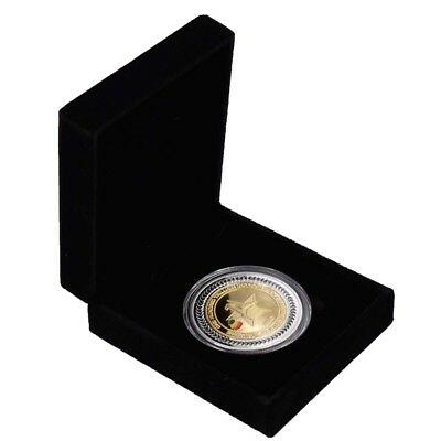 Zimbabwe One Hundred Trillion Dollar Metal Coin with Zimababwe Gift Box