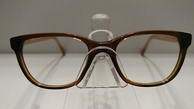 d47364cabe AUTHENTIC COACH HC6072 T 5328 BROWN GLITTER CRYSTAL Rx EYEGLASSES 52-17-135