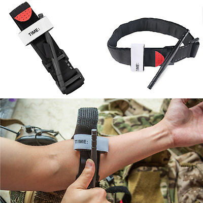 One Hand CAT Tourniquet Combat Application First Aid Medical Tool Outdoor