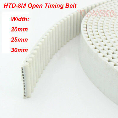 Select HTD 8M Timing Belt 8mm Pitch 704 to 984 long 15 to 40mm Wide