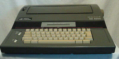 RARE Smith Corona DX 5000 Spell-Right Electric Word Processor Typewriter TESTED