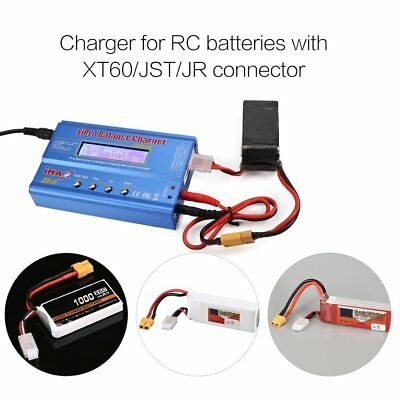 iMAX B6 80W 6A Lipo NiMh Battery Balance Charger with 15V/6A AC/DC Adapt W#
