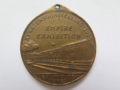1936 Rykstentoonstelling Empire Exhibition South Africa Medalet