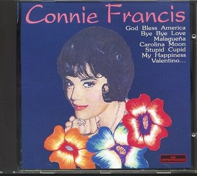 Francis Connie  - The Entertainers : Connie Francis (1997) CD