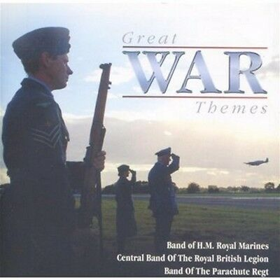 Various Military Bands  - Great War Themes - Military Bands CD