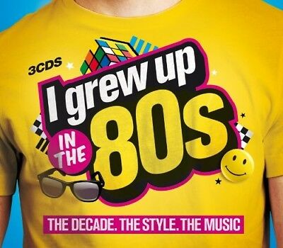 Various Artists  - I Grew Up in the 80s CD