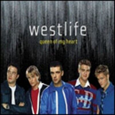 Westlife  - Queen Of My Heart (Radio Edit) Single Limited Edition CD
