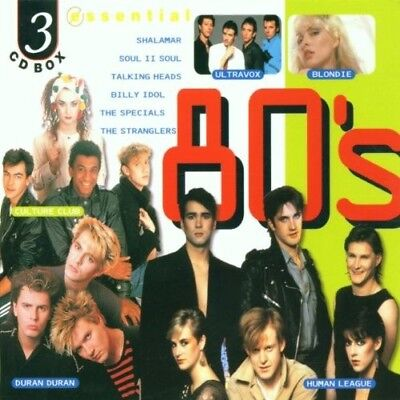 Various Artists  - Essential 80's Box set CD