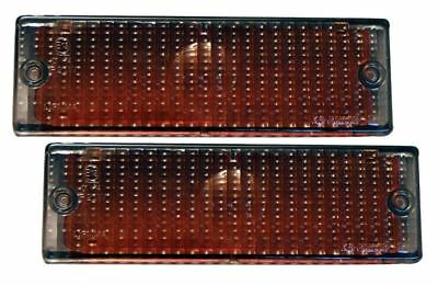 BMW 3 SERIES E30 SMOKED FRONT INDICATOR LENSES PAIR (See Exclusions)