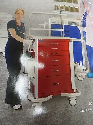 Armstrong Medical - Hospital Smart/Emergency Cart - PC-24