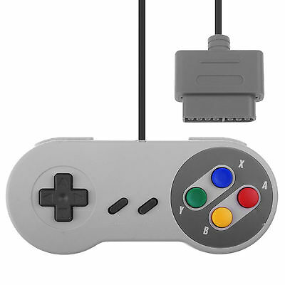 Game Controller Gamepad Joy For SNES Super Nintendo Console Original Style BSCA