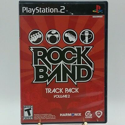 ROCK BAND TRACK Pack Vol  1 (Sony PlayStation 2, 2008) PS2 NEW