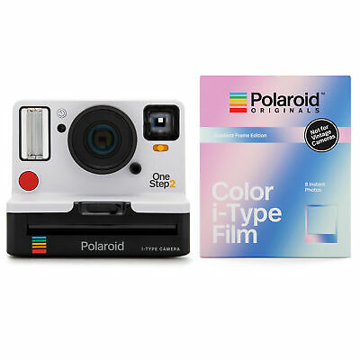 Polaroid Originals 9008 OneStep 2 VF Instant Camera (White) and Gradient Film