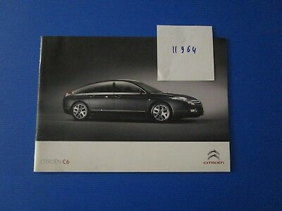 N°11964 / catalogue CITROEN C6 mai 2009