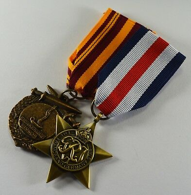 2 Full Size Replica WW2 Service/Defence Medals. France & Germany Star, Dunkirk