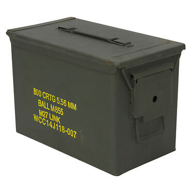 Fat 50 Cal 5.56 mm Ammo Can Box 1-5440