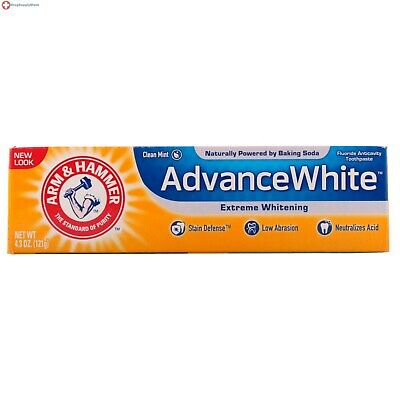 Arm & Hammer Advance White Extreme Whitening Baking Soda Toothpaste 6 OZ