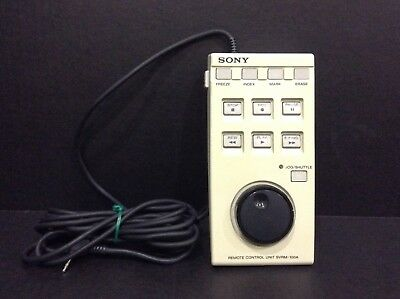 Sony Svrm-100 Remote For Dvd & Vcr Medical Recorder With 30 Day Warranty