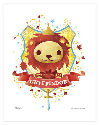 Harry Potter (Gryffindor Watercolor) MightyPrint Wall Art