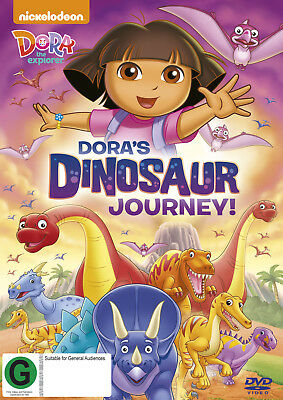 Dora The Explorer - Dora's Dinosaur Journey! (DVD)