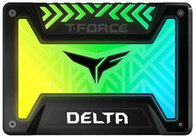 "500GB Team T-Force Delta RGB 3D NAND 2.5"" SSD"